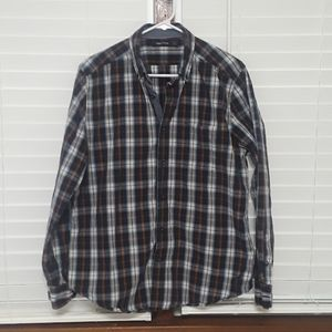 NAUTICA plaid/checkered shirt Sz M